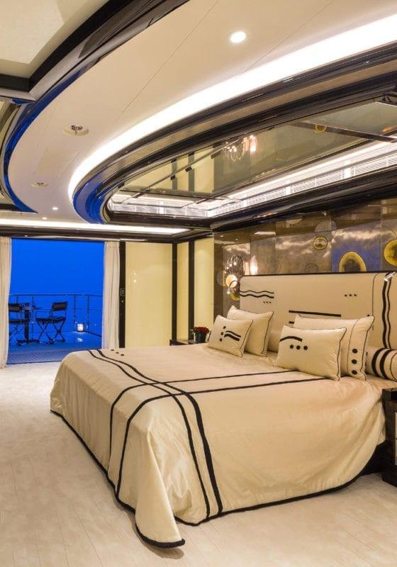 Master bedroom and balcony of Okto