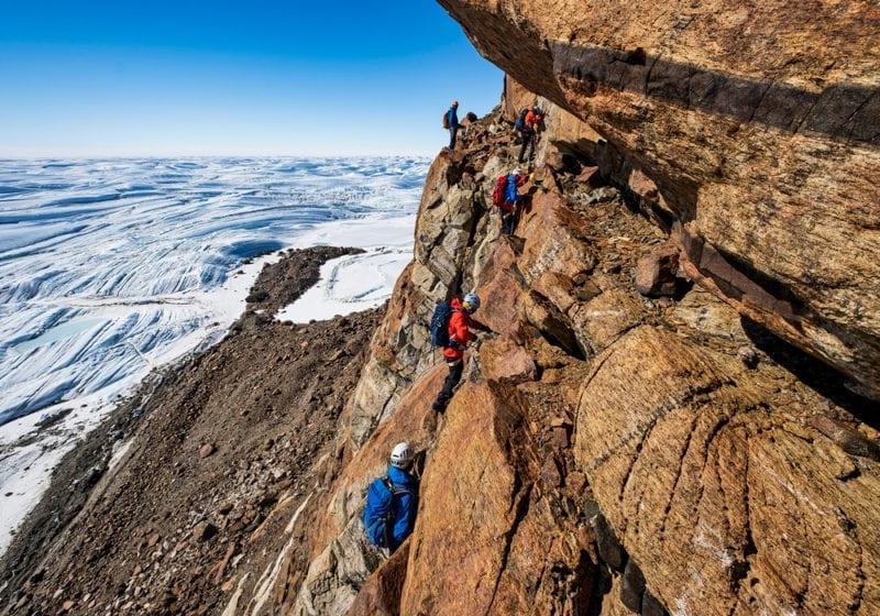 Rock Climbing Antarctica