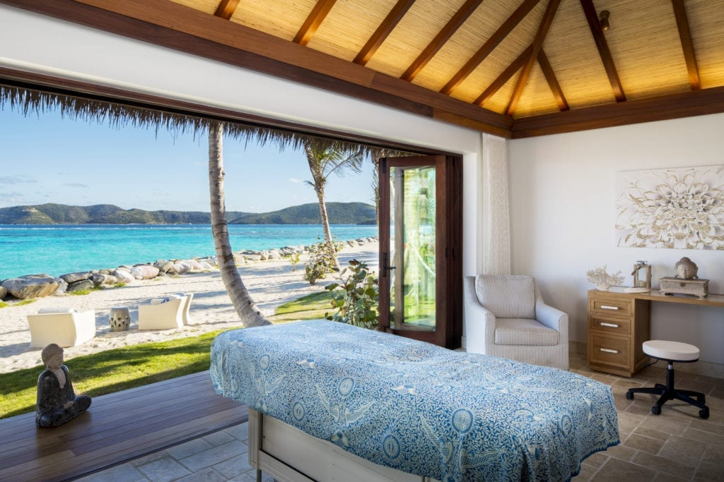 Samudra Spa at Necker Island British Virgin Islands
