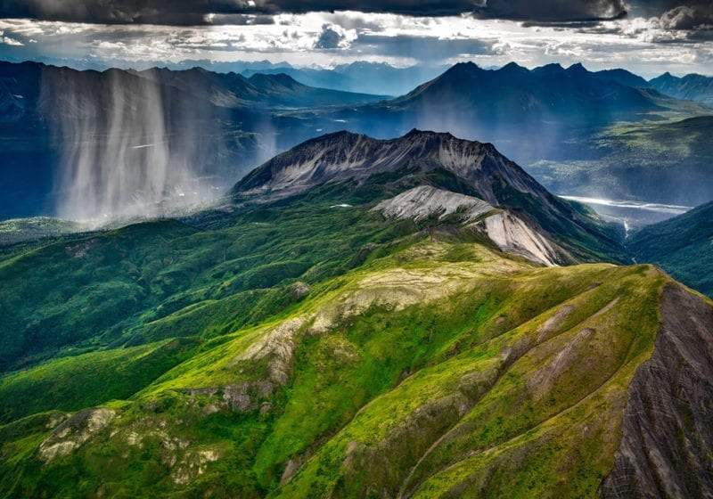 Mountain views in Alaska