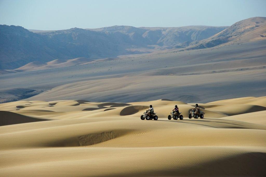 Quad bike safari from Serra Cafema