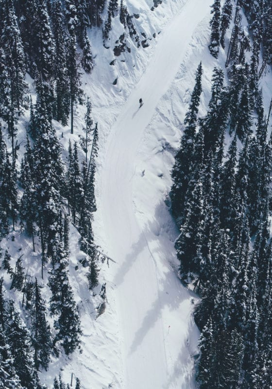 Skiing in British Columbia Canada