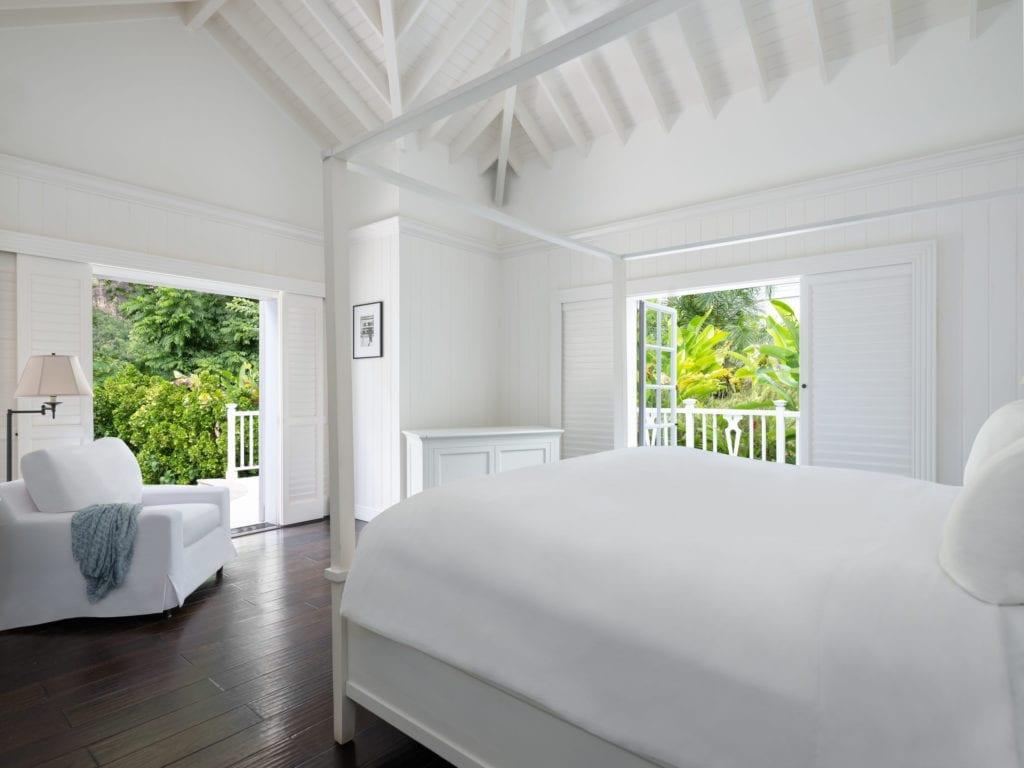 st lucia sugar beach bedroom