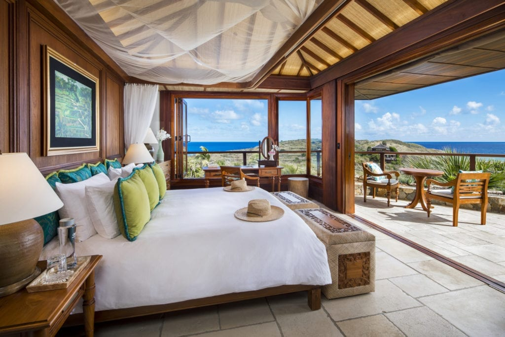 The Great House Room Interior Ocean View Necker Island British Virgin Islands
