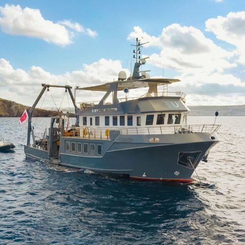 U Boat Navigator Support Vessel Exterior