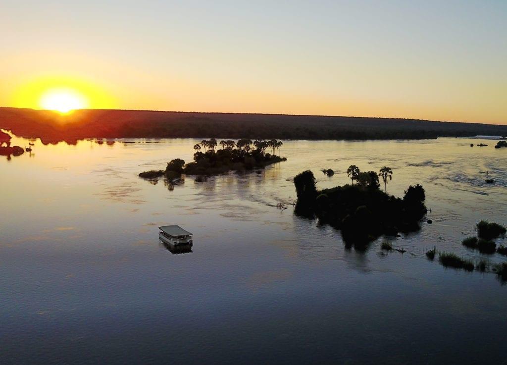 Zambezi Royal Cruise at sunset