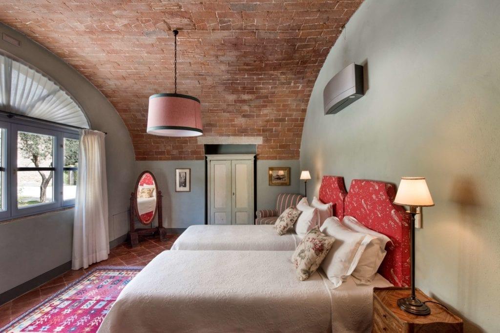 Borgo Pignano Maisonette Bedroom Interior Tuscany Italy