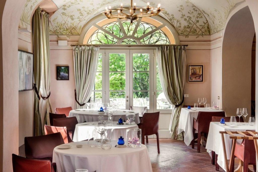 Borgo Pignano Villa Pignano Restaurant Interior Tuscany Italy