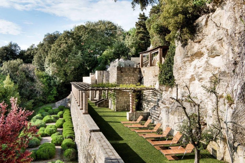 Borgo Pignano Solarium Outdoor Tuscany Italy