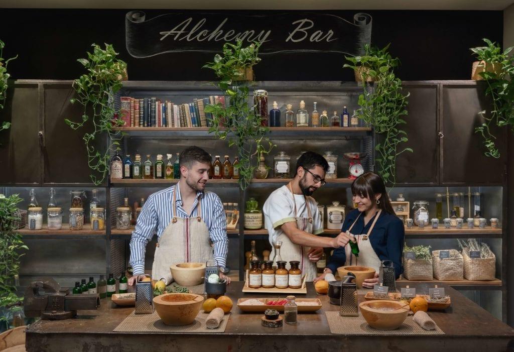 Alchemy Bar Workshop at Six Senses Douro Valley Portugal
