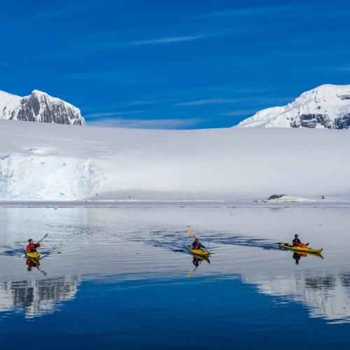 Darrel Day. Kayaking in Antarctica