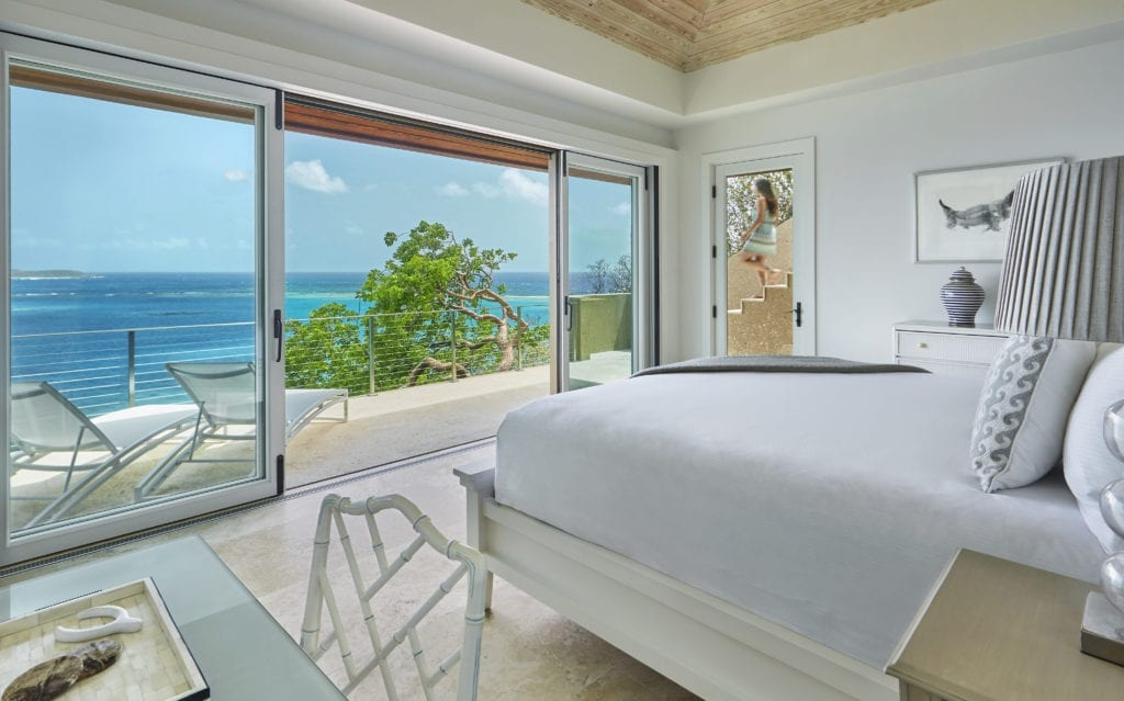 Bedroom Interior Oil Nut Bay British Virgin Island Caribbean