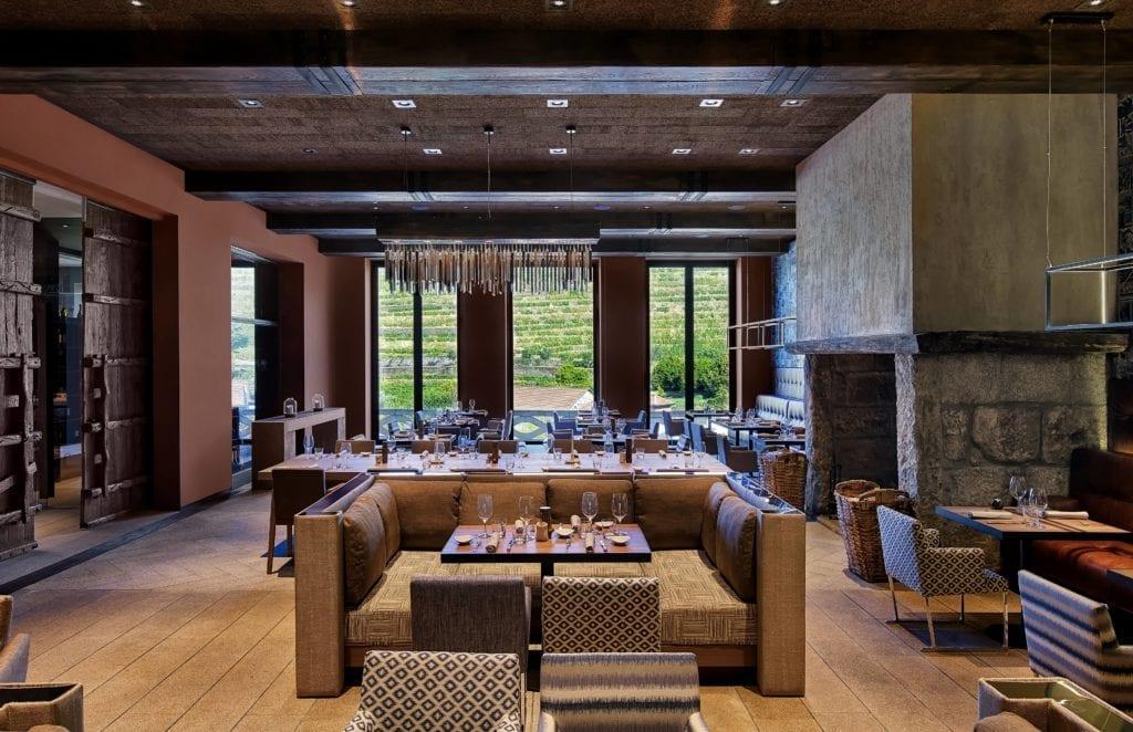 Dinign Room at six Senses Douro valley Portugal