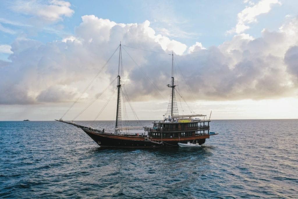 Yachting in Raja