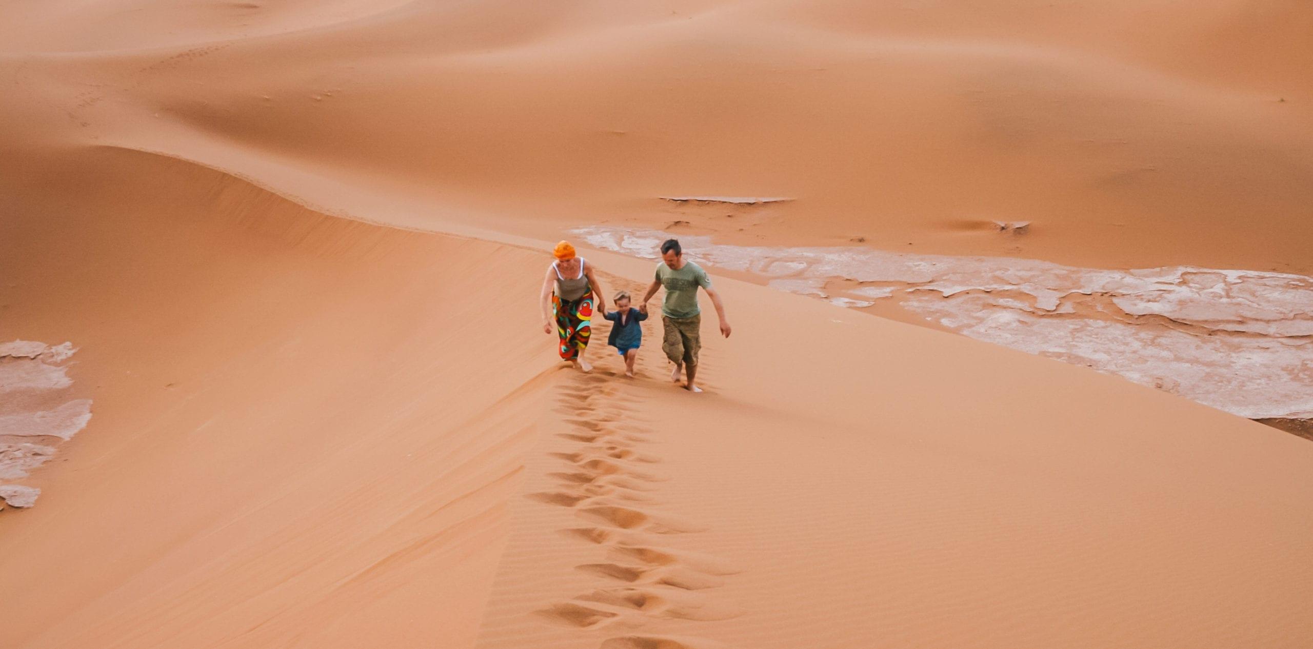 Sand Dune Family Holiday