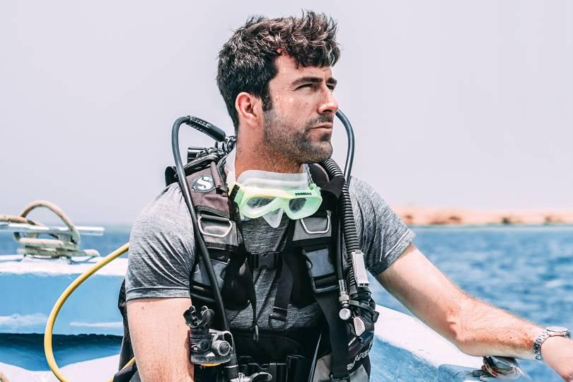 Diving Geordie Eritrea