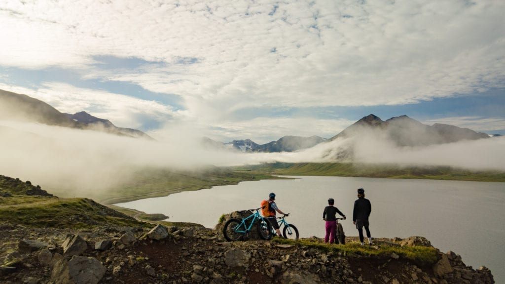 Iceland Family Biking and Landscapes