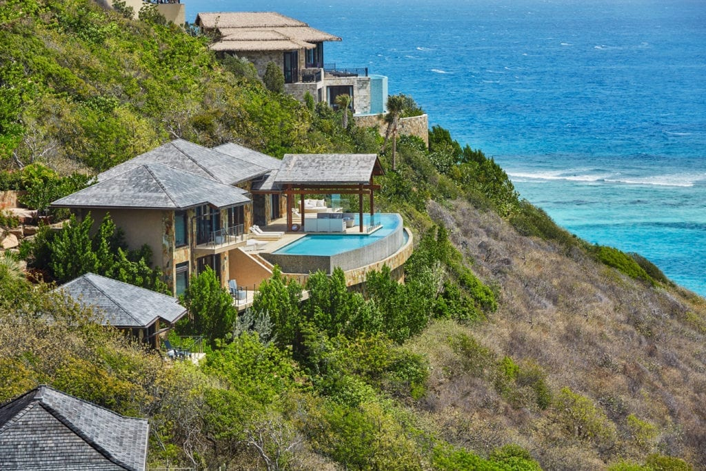 Oil Nut Bay Exterior Villas British Virgin Islands Caribbean
