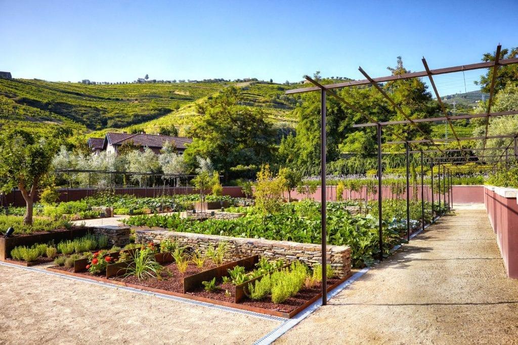 Organic Gardens Six Senses Douro Valley Portugal