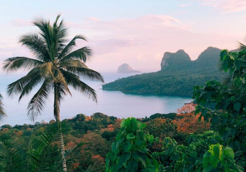 Sao Tome and PRincipe Island Views over jungle