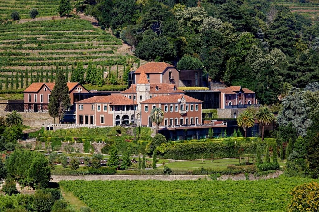 Exterior of Six Senses Douro Valley Portugal