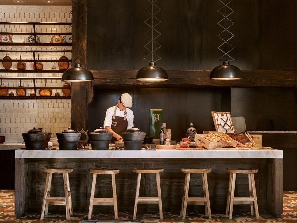 The Vale de Abraao Restaurant breakfast Six senses douro valley portugal