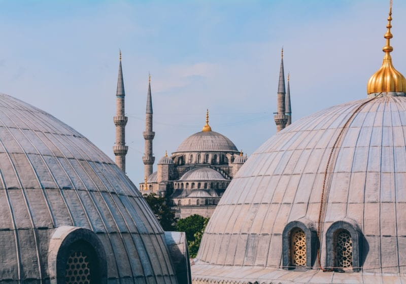 Turkey Temple Rooftops