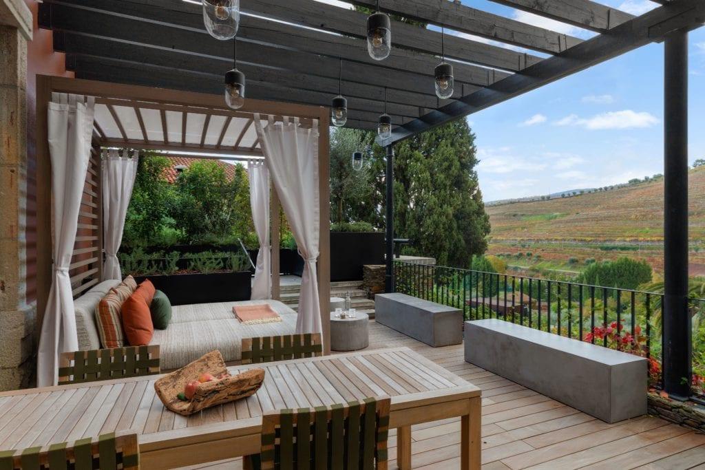 Vineyard Premier Terrace at six senses douro valley portugal