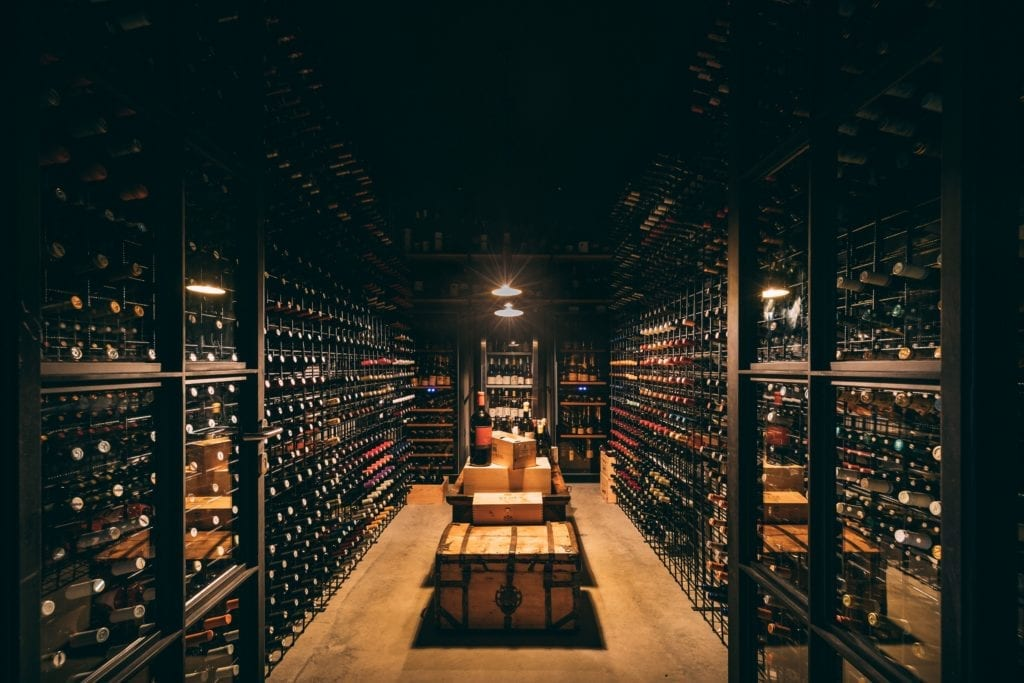 Wine Cellar Interior of San Canzian Croatia