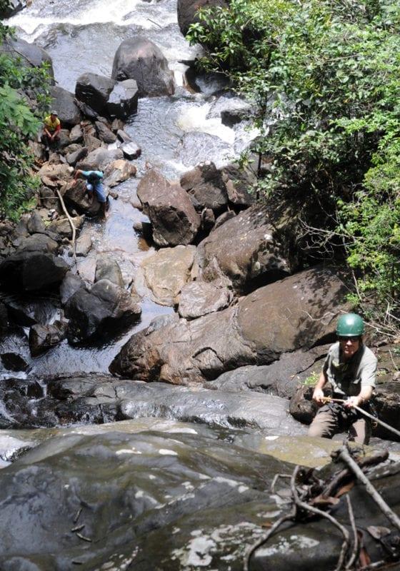 Abseiling Waterfall Guyana
