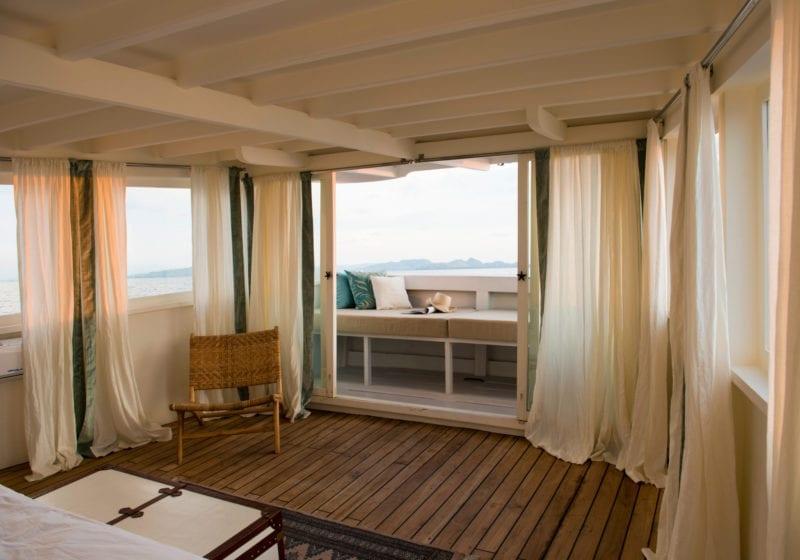 Alexa yacht interior master cabin