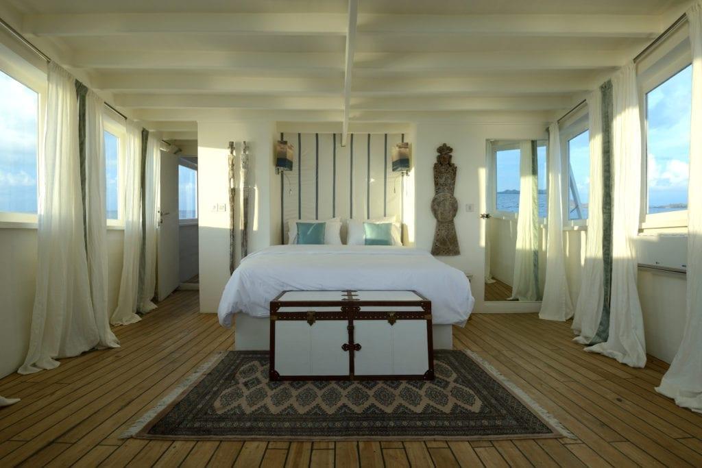 Alexa Yacht Interior Master Suite