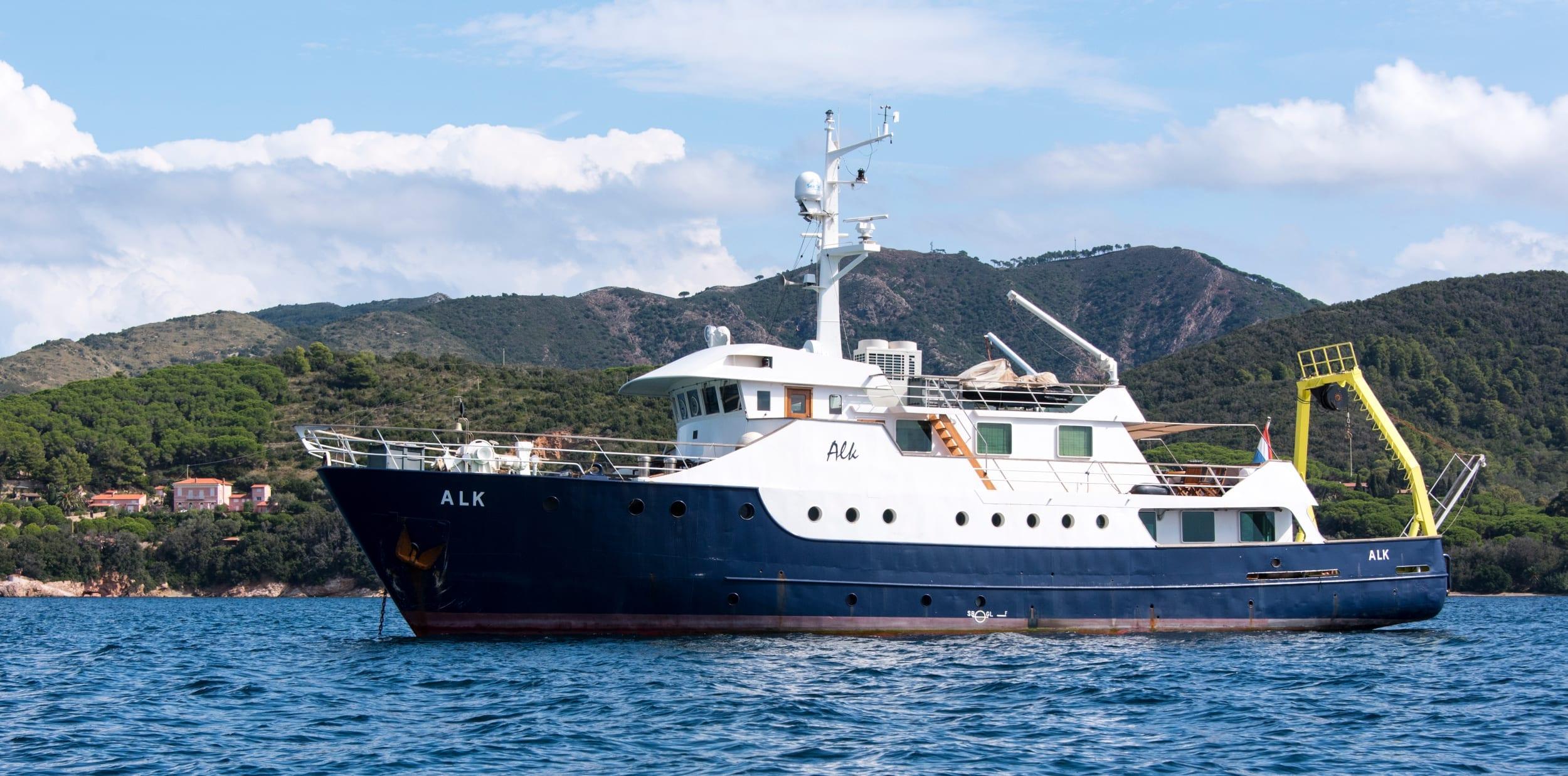 Support Vessel Alk Profile