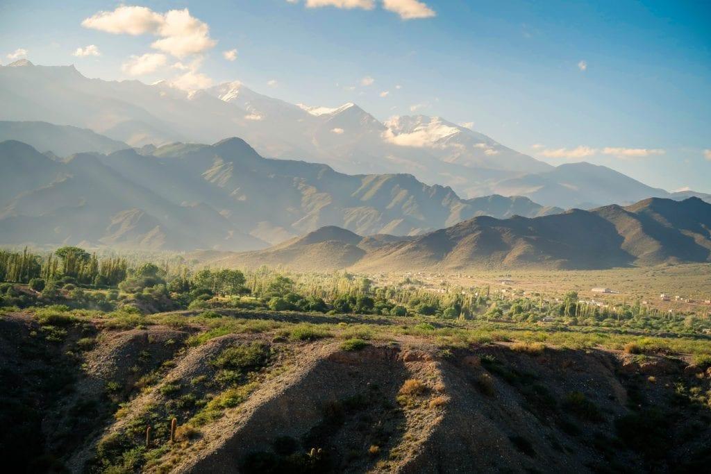 mountain landscape argentina