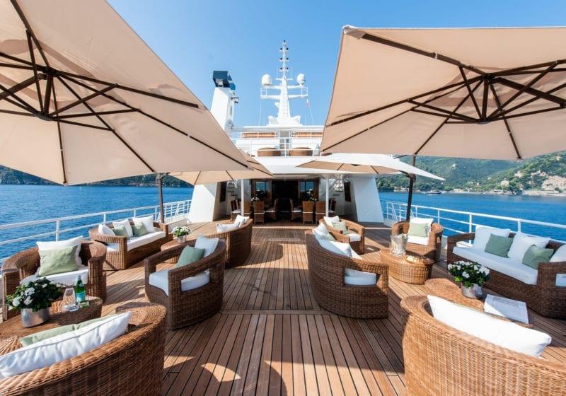 Bleu De Nimes Yacht Exterior Deck