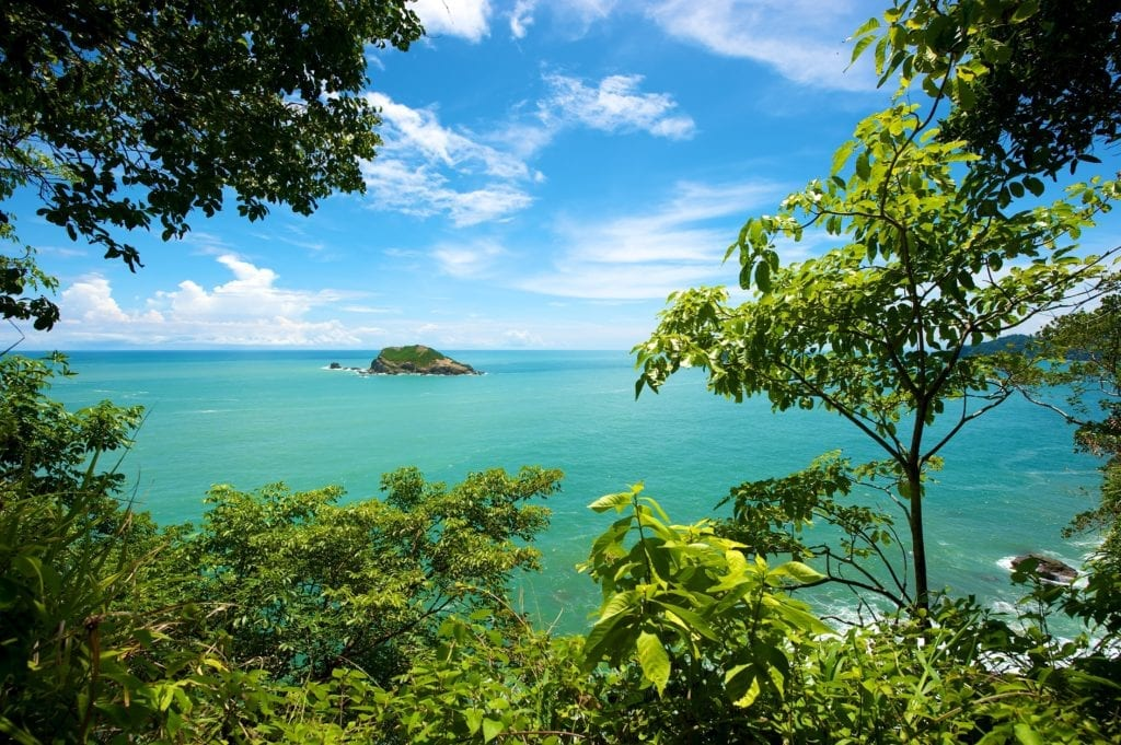 turquoise ocean waters costa rica