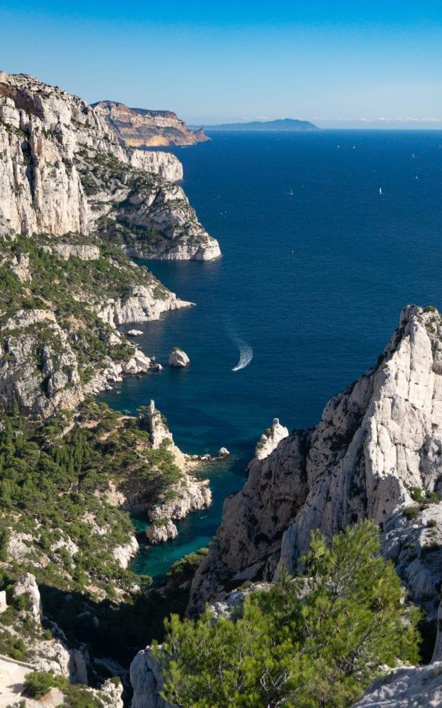 coastline french riviera