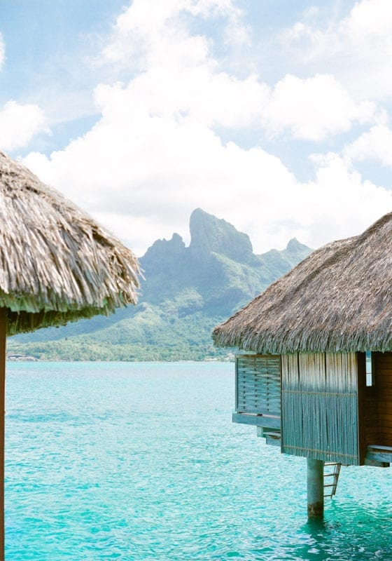 Overwater Bungalow in French Polynesia