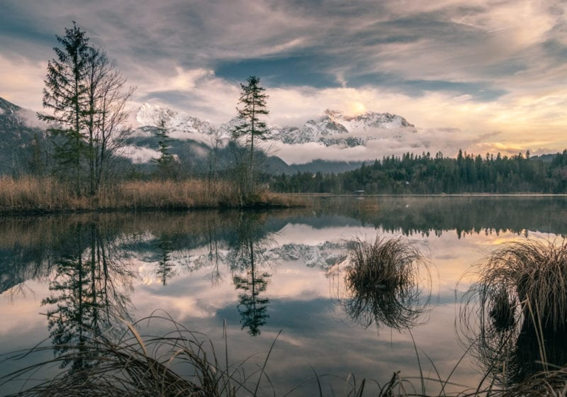 Lake views in Bavaria Germany