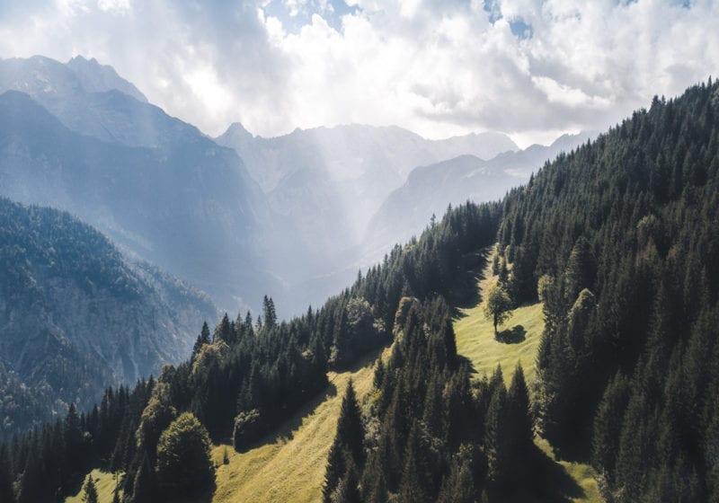 Germany Bavaria Mountains