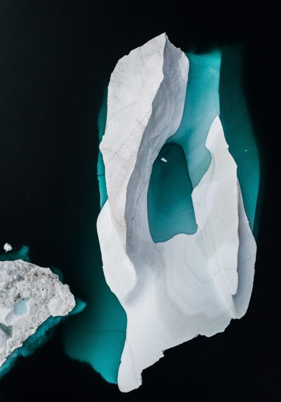 Greenland Floating Ice