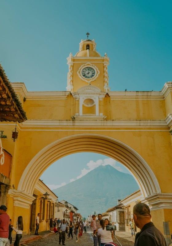 Guatemala Antigua City