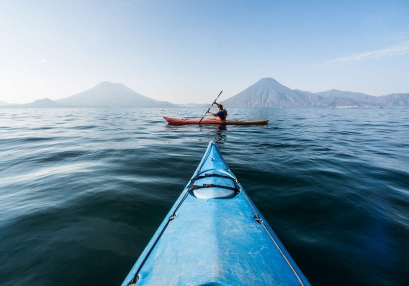 Guatemala Kayaking Lake Atitlan