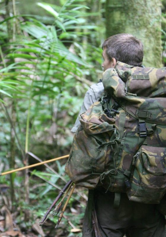 Trekking in the Jungle of Guyana