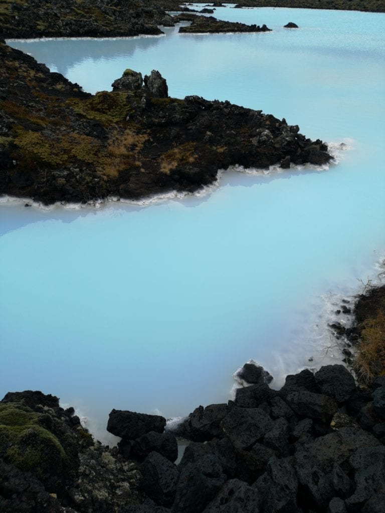blue thermal pools iceland