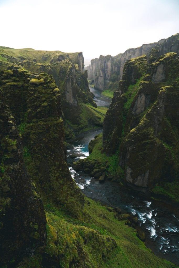green gorge iceland