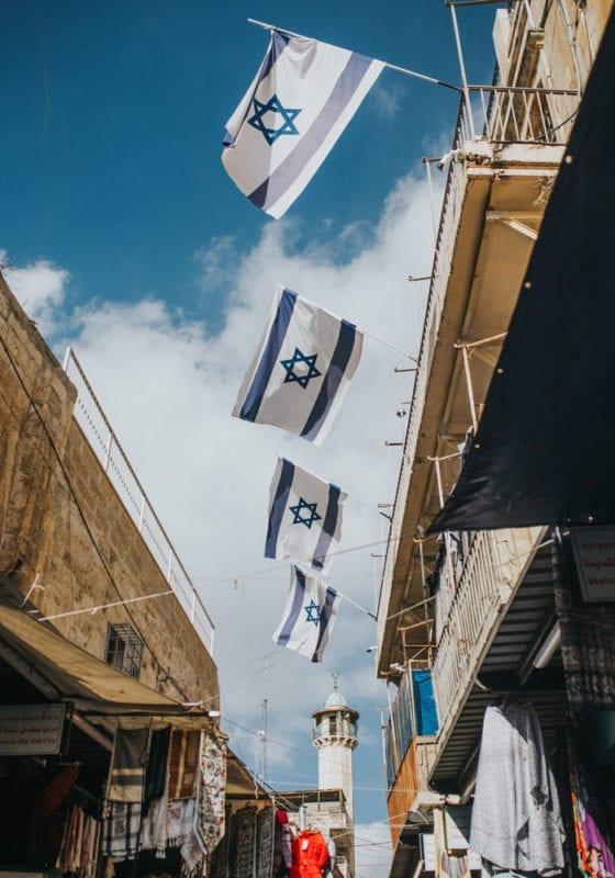 India Israel Jerusalem City Streets