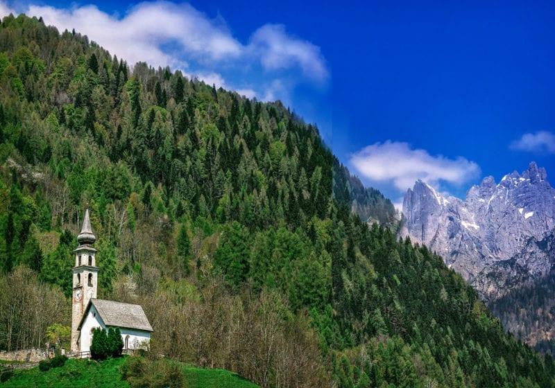 Italian Dolomites summer