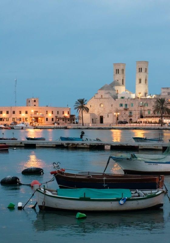 Puglia Italy port