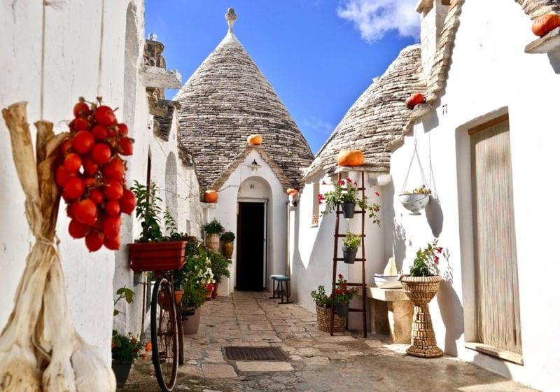 Italy Puglia Streets